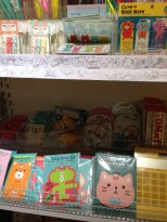 Design Stationery store - I have my eye on that kitty luggage tag.