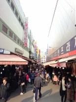 Namdaemun Market - stalls and stalls.
