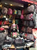 Namdaemun Market - backpacks.