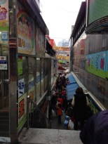 Namdaemun Market - it never ends. I kept discovering different walkways and entrances.