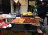 Myeong-dong street food.
