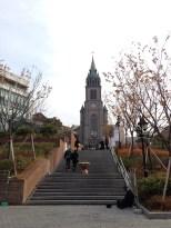 Myeong-dong Catholic Cathedral.