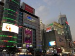Dongdaemun at night. Apparently it gets really lively here at night.