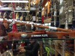 Nagwon Instrument Arcade in Insa-dong - cool flute.