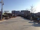 Outdoor exhibition area.