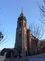 Myeong-dong Cathedral.