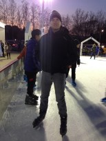 My ice skating buddy.