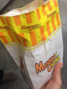 Manjoo Hana treats.