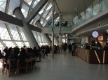 Sky Plaza. Cafe and seating.