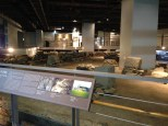 Excavation and relics hall.