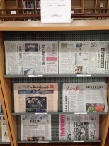 More foreign newspapers.