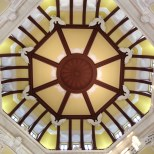 Ceiling view.