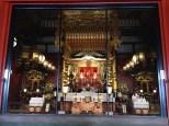 Glimpse into the temple.