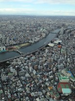 Tokyo has more rivers than I expected.