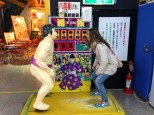 The sumo wrestler was no match for me.