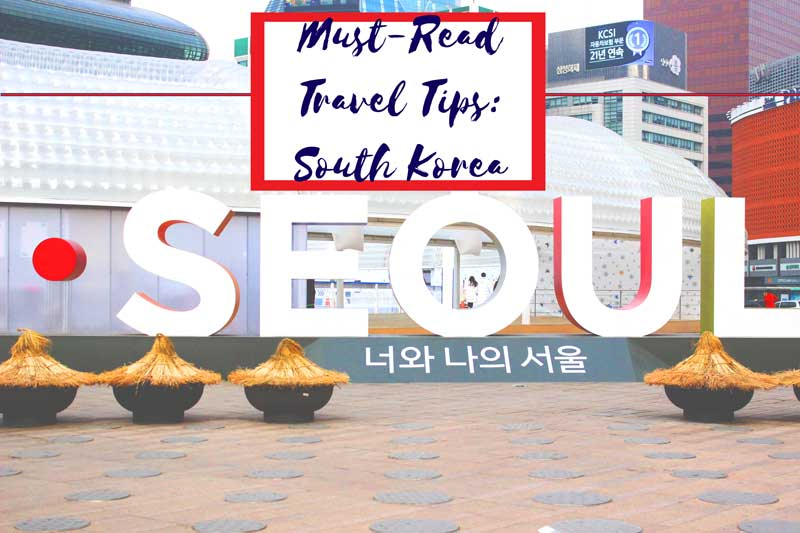 First Time Travel South Korea