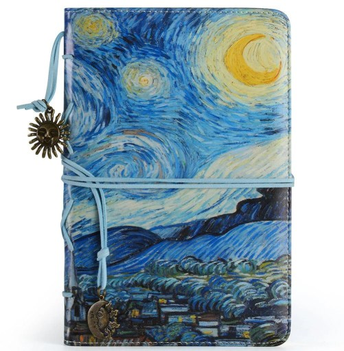 This Van Gogh journal is one of the perfect travel-inspired valentine's day gifts