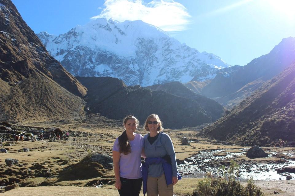 Day 2 of the Salkantay Trek to Machu Picchu