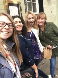 Me, Emelie, Abriel, Kate