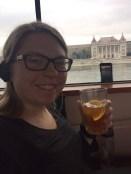 Orange tea on the river cruise