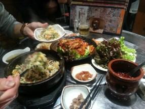 Korean dinner with Koh! YumYum!