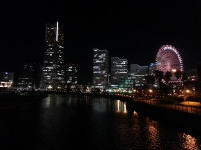 Yokohama view of Mirai 21