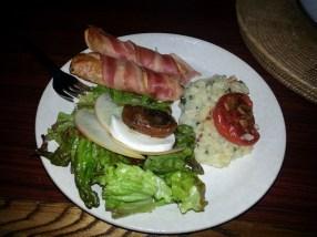 Dinner from Peter