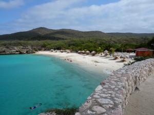 Curacao beach, near Westpunt