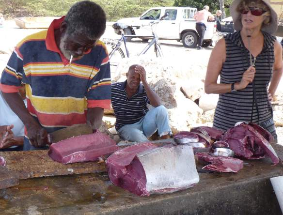 buy fresh fish in curacao - that looks very good