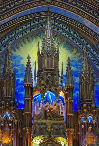 Notre-Dame Basilica in historic Old Montreal