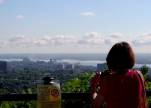 Overlook of Montreal from Mount Royal