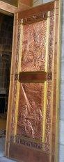 Copper doors at Sainte Anne de-Beaupre