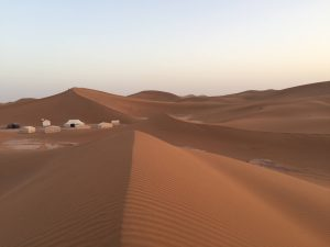 Erg Chigaga (or Chegaga) is one of two major Saharan ergs of the Sahara in Morocco