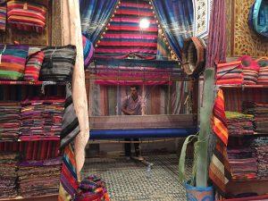 Fez weaver in Morocco