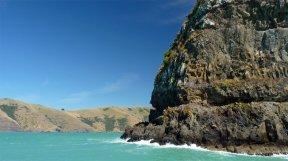 Akaroa New Zealand Coastline