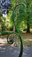 Christchurch Botanical Gardens Fern sculpture