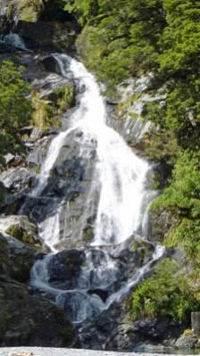 Fantail Falls near Haast