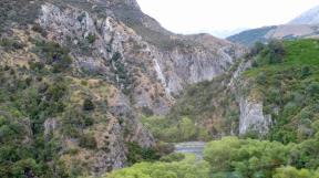 New Zealand's Southern Alps from the KiwiRail's TranzAlpine Railway