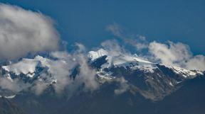 Snow topped mountains Franz Josef Glacier