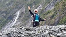 Franz Josef Glacier hiker