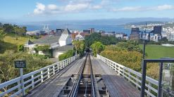 View of Wellington Harbour from Cable Car
