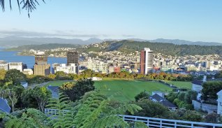 Wellington city overview