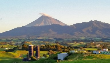 Mount Taranaki in New Plymouth NZ