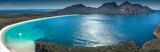 Wineglass Bay panorama