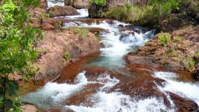 Buley Rockholes in Litchfield National Park, Northern Territory, AU
