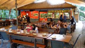 Cape Trib Beach House poolside restaurant
