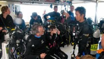 Pre-dive briefing