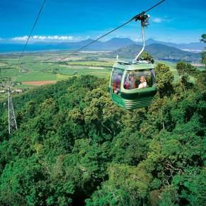 Skyrail Gondola view