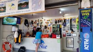 Big Blue Vanuatu's shop front