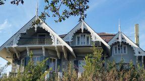 Beautiful facade on Garden District home